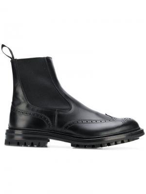 Ботинки-челси Trickers. Цвет: черный