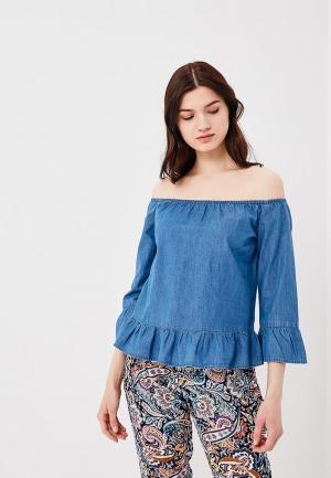 Блуза Baon. Цвет: синий