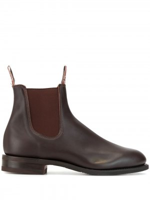 Ботинки челси R.M.Williams. Цвет: коричневый