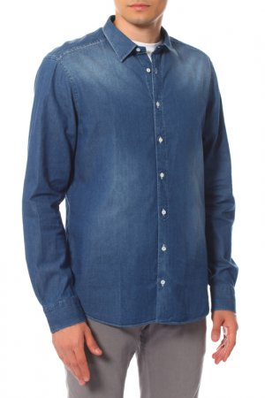Рубашка PAOLO PECORA. Цвет: мультицвет