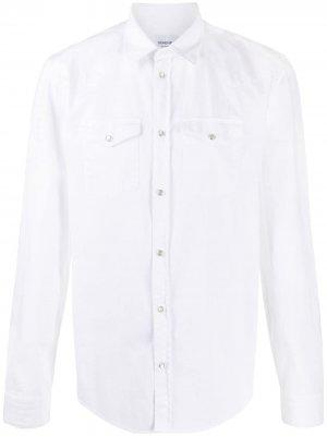Ковбойская рубашка Dondup. Цвет: белый