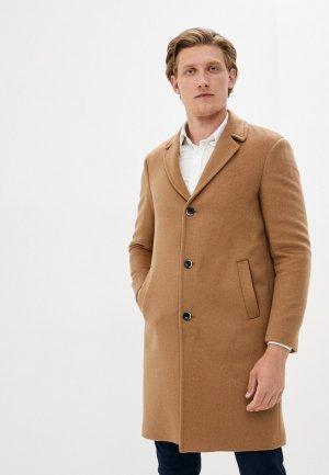 Пальто Sisley. Цвет: бежевый