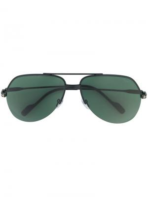 Wilder sunglasses Tom Ford Eyewear. Цвет: черный