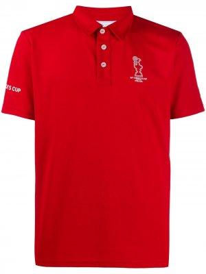 Рубашка-поло Americas Cup North Sails. Цвет: красный
