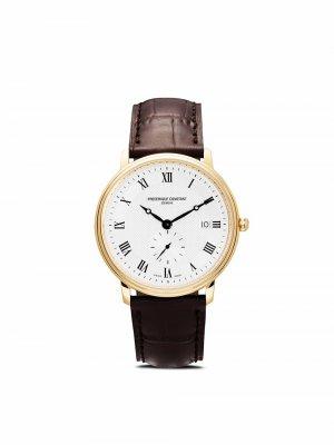 Наручные часы Slimline Gents Small Seconds 39 мм Frédérique Constant. Цвет: серебристый