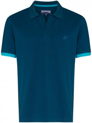 Рубашка поло Pallas Vilebrequin. Цвет: синий