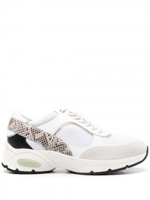 Массивные кроссовки Alhour Geox. Цвет: белый