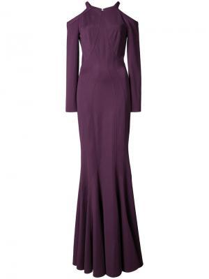Платье Sallie Zac Posen. Цвет: розовый