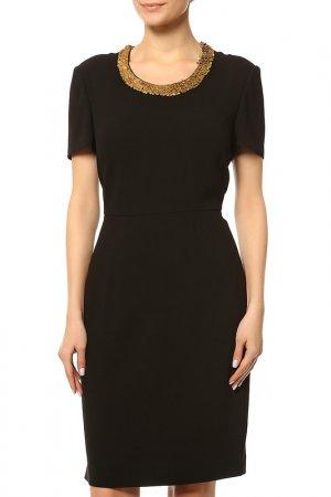 Платье Burberry. Цвет: черный