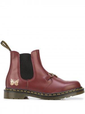 Ботинки Snaffle 2976 Dr. Martens. Цвет: красный