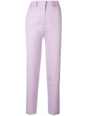Строгие брюки House Of Holland. Цвет: розовый