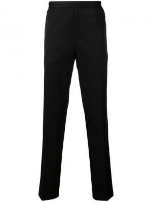 Классические брюки с эластичной талией Helmut Lang. Цвет: черный