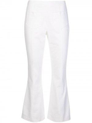 Укороченные брюки Lindsay Cinq A Sept. Цвет: белый