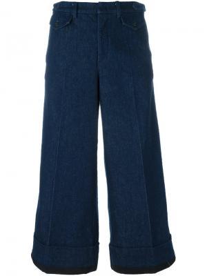 Широкие джинсы Nº21. Цвет: синий