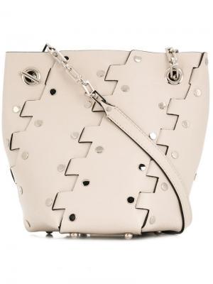 Mini Hex bucket bag Proenza Schouler. Цвет: нейтральные цвета