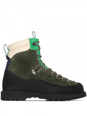 Ботинки хайкеры Everest Diemme. Цвет: зеленый