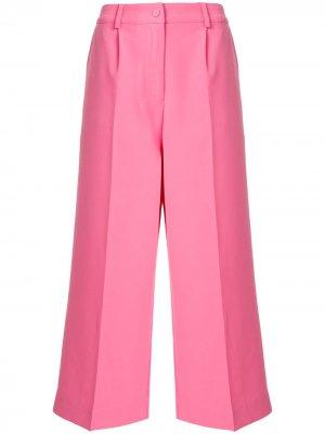Укороченные брюки Maxwell Cynthia Rowley. Цвет: розовый
