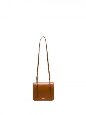 Маленькая сумка на плечо Holster Jil Sander. Цвет: коричневый