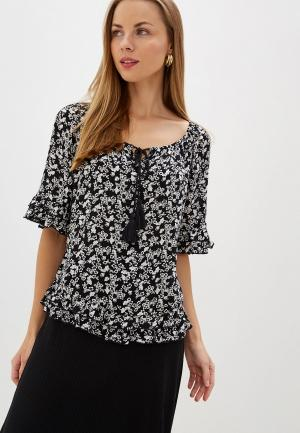 Блуза Dorothy Perkins. Цвет: черный