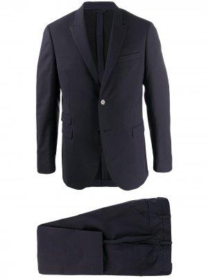 Строгий костюм с однобортным пиджаком Neil Barrett. Цвет: синий