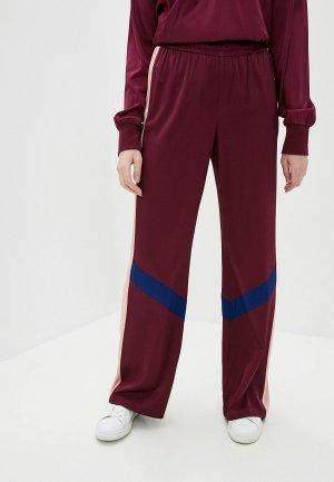 Брюки спортивные Juicy Couture. Цвет: бордовый