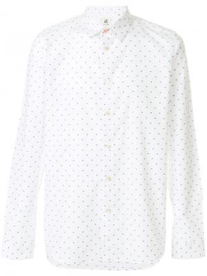 Рубашка в горошек Ps By Paul Smith. Цвет: белый