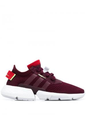 Кроссовки Pod-S3.1 adidas. Цвет: красный