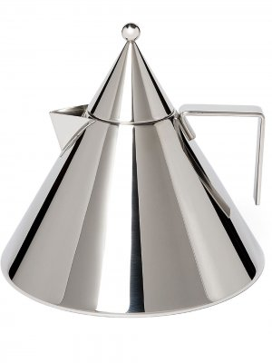 Чайник Il Conico Alessi. Цвет: серебристый