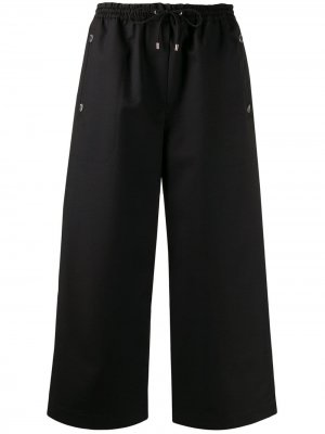 Укороченные брюки с кулиской Kenzo. Цвет: черный