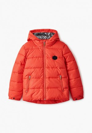 Куртка утепленная Catimini. Цвет: красный