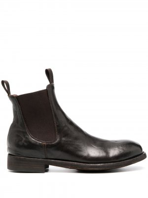 Ботинки челси Harbus Officine Creative. Цвет: коричневый