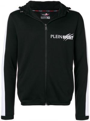 Спортивный костюм с логотипом Plein Sport. Цвет: черный