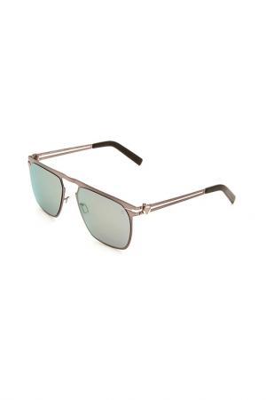 Очки солнцезащитные MOMODESIGN. Цвет: 05 серый металлик матовый