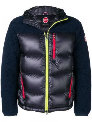 Teddy padded jacket Colmar. Цвет: синий