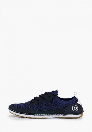 Кроссовки Bugatti. Цвет: синий