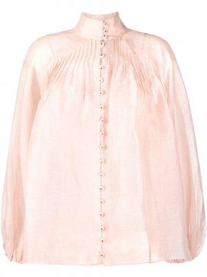 Блузка Lovestruck Swing Zimmermann. Цвет: розовый