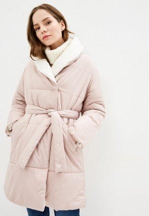 Куртка утепленная Zarina. Цвет: розовый