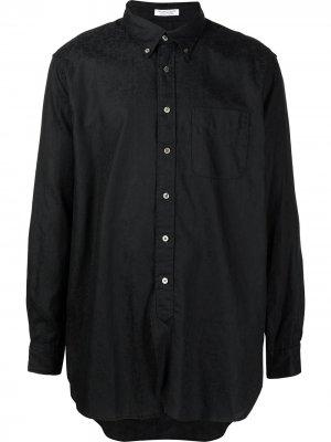 Рубашка на пуговицах Engineered Garments. Цвет: черный