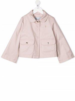 Куртка с карманами Herno Kids. Цвет: розовый