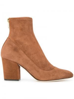 Virginia boots Sergio Rossi. Цвет: коричневый