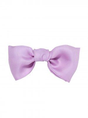 Заколка для волос в форме банта Jennifer Behr. Цвет: розовый