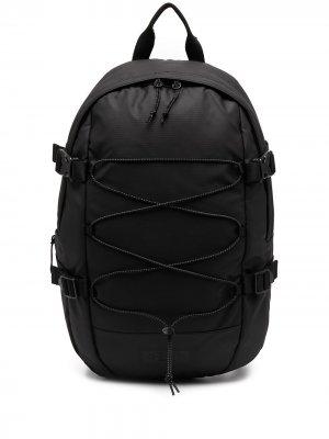 Объемный рюкзак на молнии Eastpak. Цвет: черный