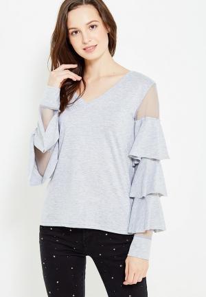 Блуза Care of You. Цвет: серый