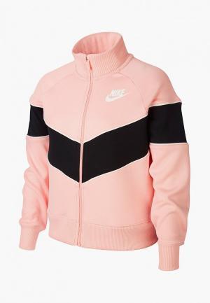 Олимпийка Nike. Цвет: розовый
