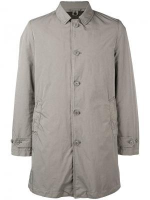 Пальто свободного кроя Aspesi. Цвет: нейтральные цвета