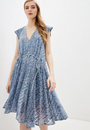 Платье Zadig & Voltaire. Цвет: синий