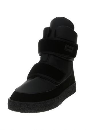 Ботинки JOG DOG. Цвет: черный сигма