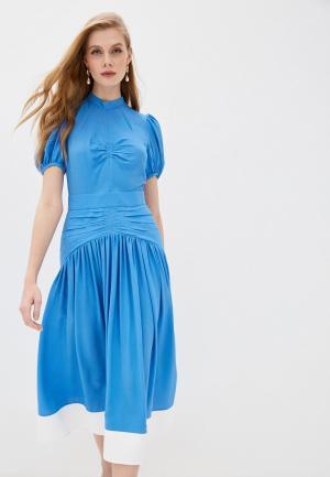 Платье N21. Цвет: голубой