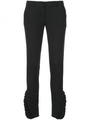 Классические брюки Thomas Wylde. Цвет: черный