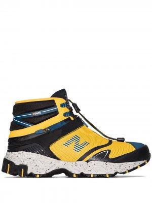 Кроссовки TDS Niobium Concept 1 из коллаборации с Snow Peak New Balance. Цвет: желтый